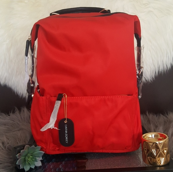 7e0d46370f01 Mickey red Cynthia Rowley fashion backpack